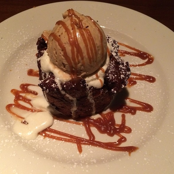 Nutella Bread Pudding @ Del Frisco's Grille