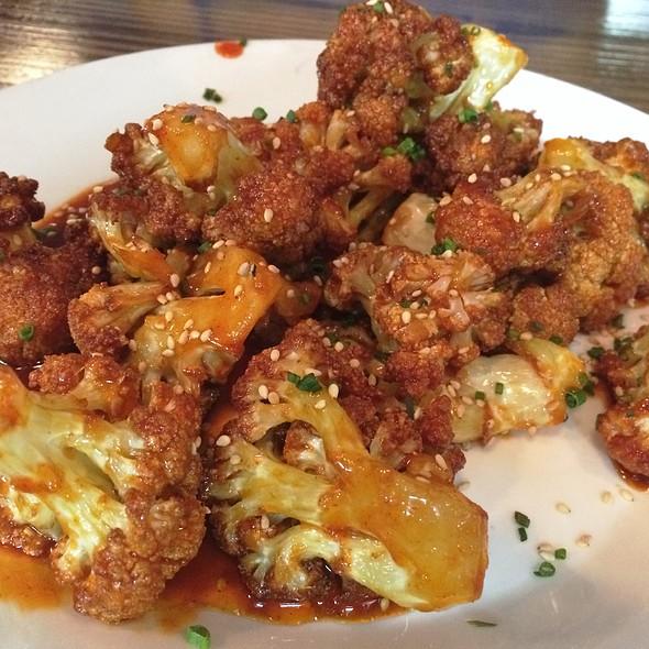 Korean Fried Cauliflower @ Pizza of Venice