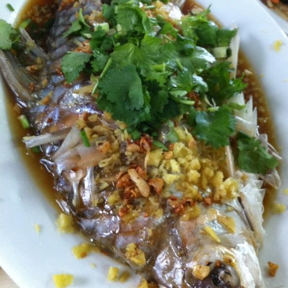 Steamed Kerai Fish @ new kee restaurant