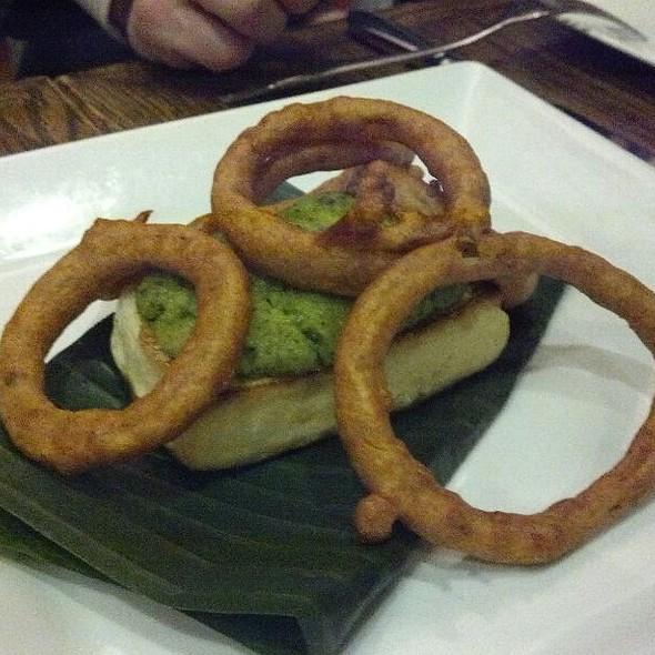 Banana Leaf Tofu Fritters @ Mehtaphor