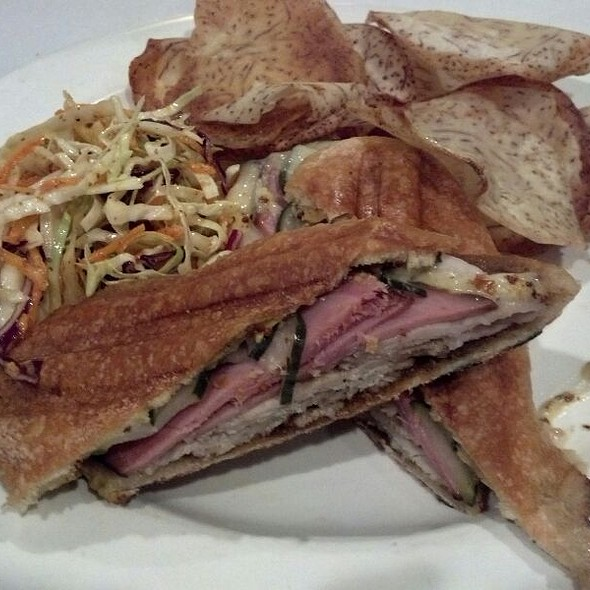 Char Siu Glazed Pork Cuban Sandwich @ Blue Ginger