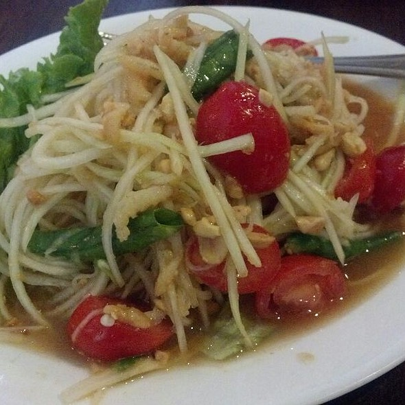 Papaya Salad @ Sripraphai Thai Restaurant