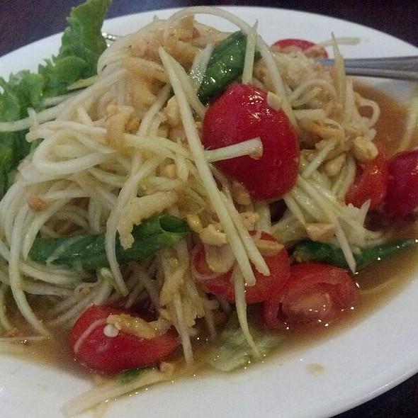 Papaya Salad @ Sripraphai Thai Restaurant