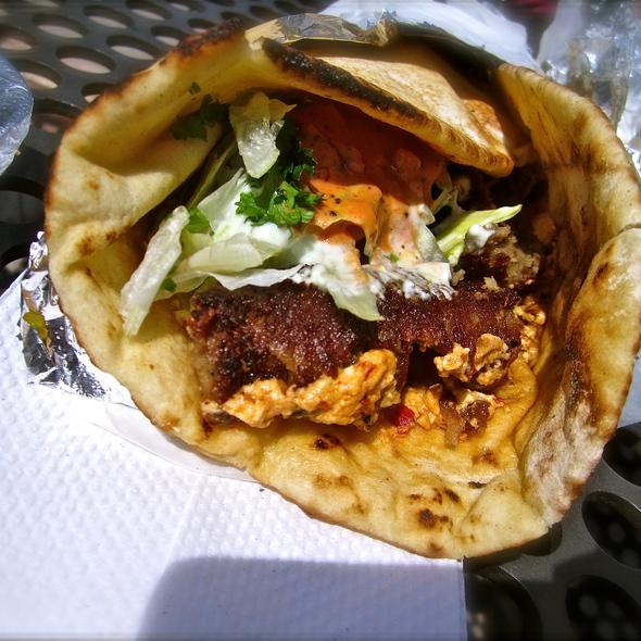 lamb kebab wrap @ Kebabalicious