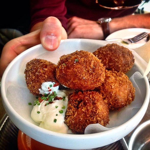Pulled Pork Fritters