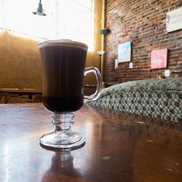 Studying Nietzsche @ J & J's Market & Cafe