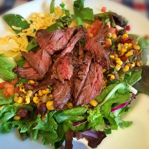 Santa Fe Salad With Steak @ Lone Star Texas Grill