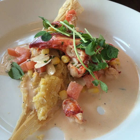Lobster And Sweet Corn Tamale - Coast Guard House, Narragansett, RI