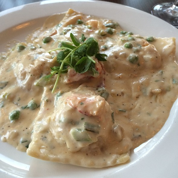 Lobster Ravioli - Coast Guard House, Narragansett, RI