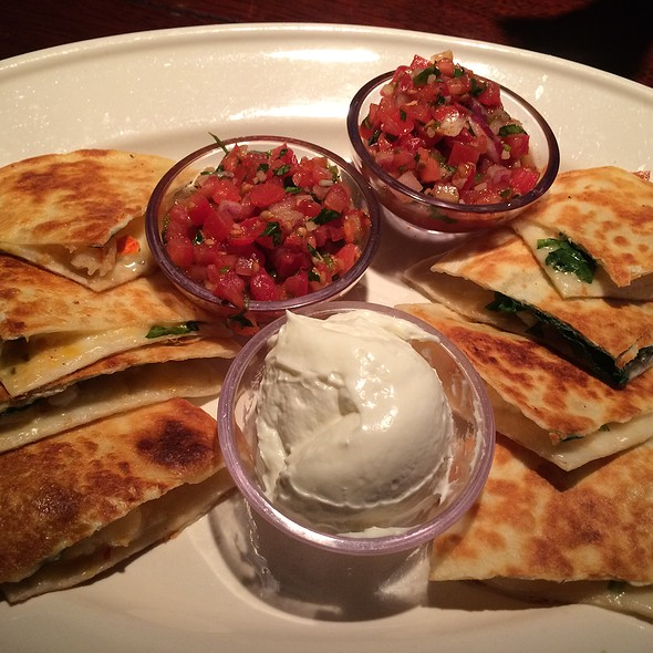 Shrimp And Lobster Quesadillas @ Bahama Breeze