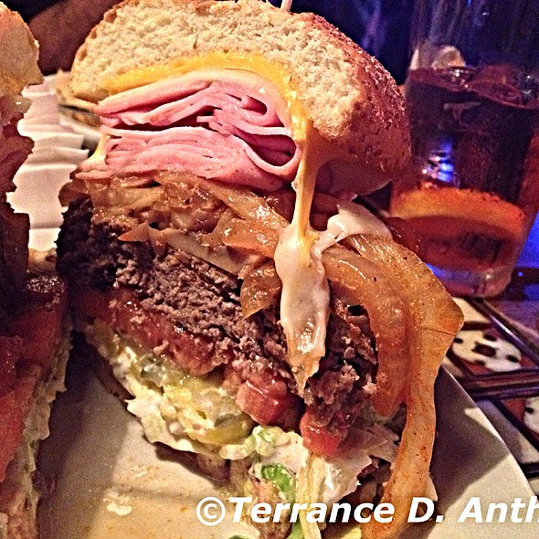The Thurmanator burger - Picture of Son of Thurman, Delaware ...