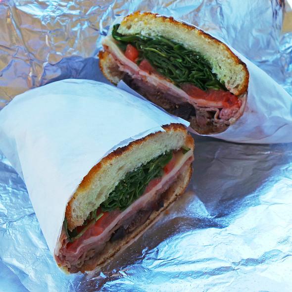 Willie Brown Bird Sandwich