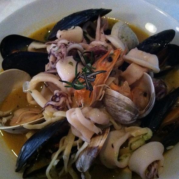 Mixed Seafood Linguine - Monica's Trattoria, Boston, MA