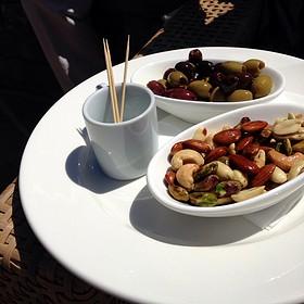 nuts and olives - Lynmar Estate, Sebastopol, CA