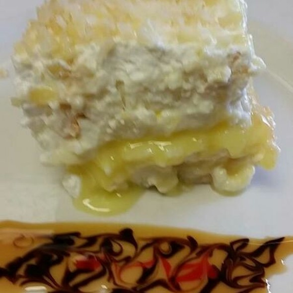 Lemon Cell Tiramisu - Vincente's Restaurant, Wilmington, DE