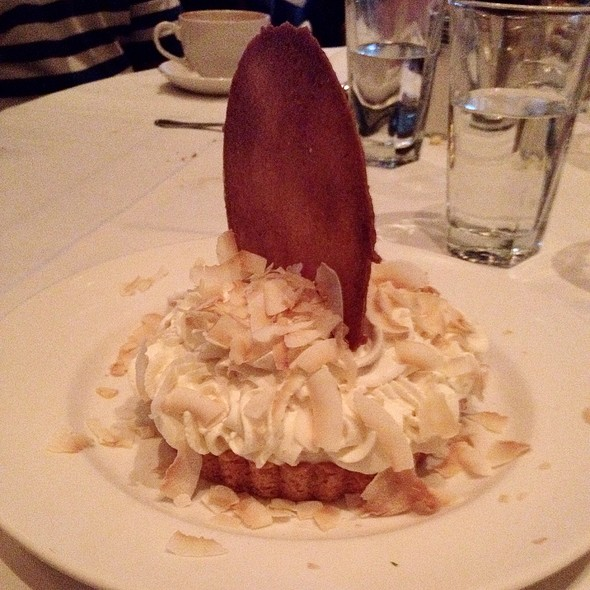Coconut Cream Pie - The Capital Grille - Baltimore, Baltimore, MD