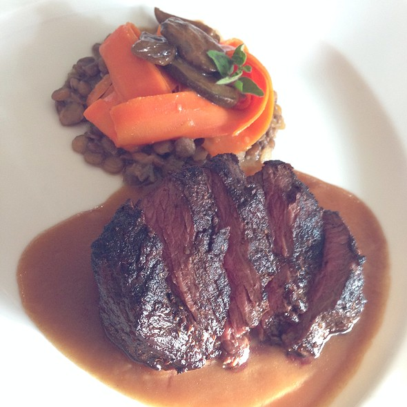 Elk Ribeye - The Joel Palmer House, Dayton, OR