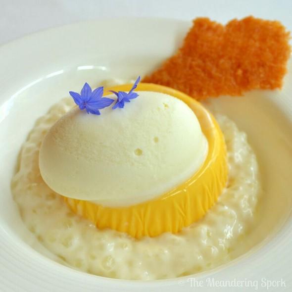 Mango Pudding - BOSK at Shangri-La Hotel Toronto, Toronto, ON