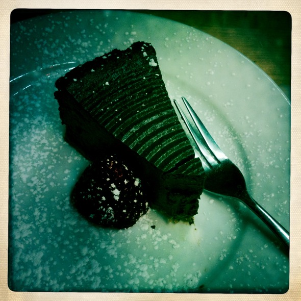 Chocolate Tofu Cheesecake