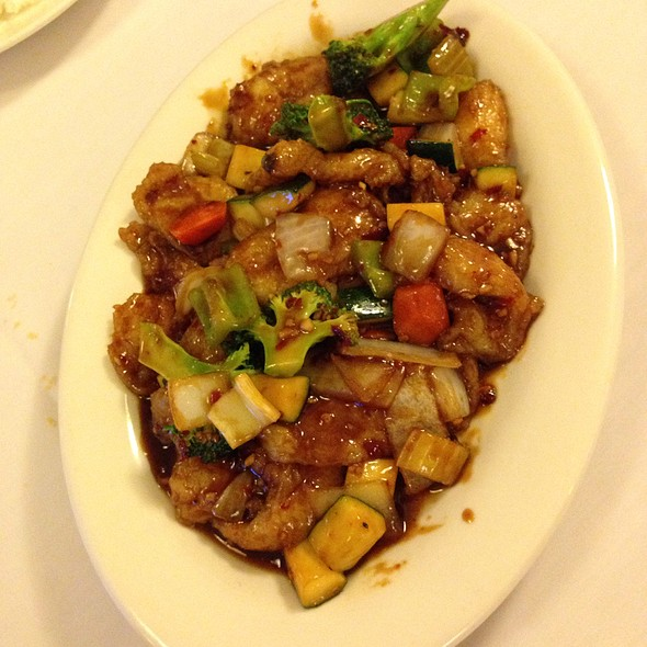 Garlic Fish Filet @ Panda Garden