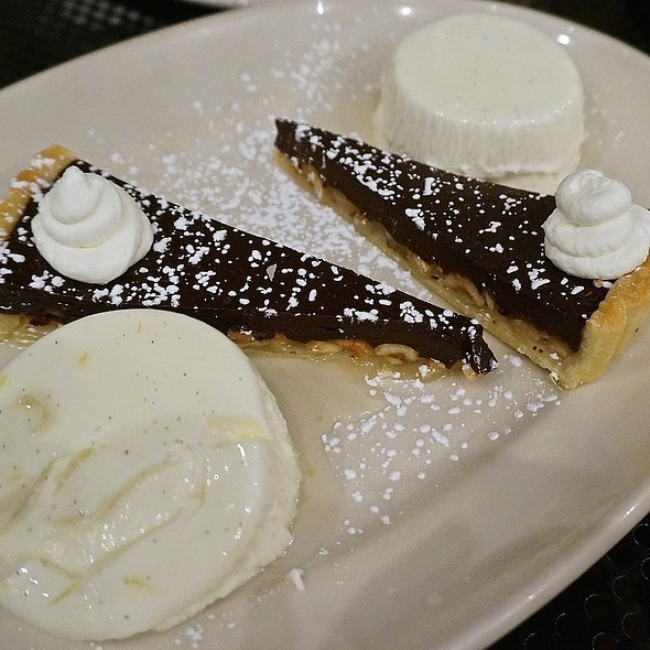 Lemon panna cotta, chocolate hazelnut tort - Anteprima, Chicago, IL