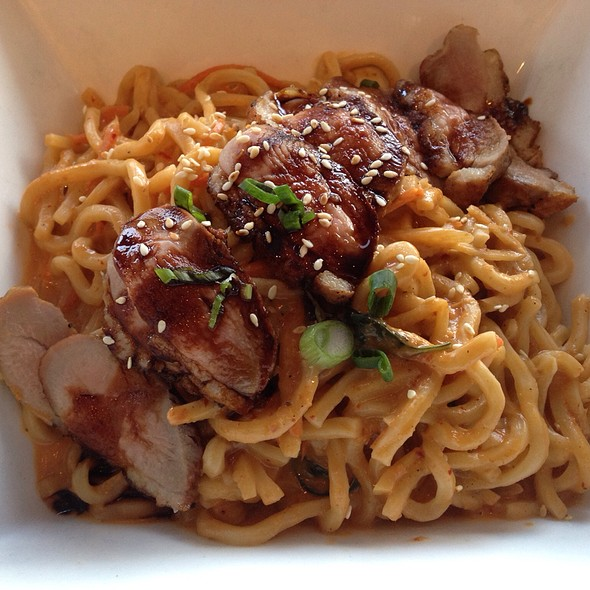 Duck Breast With Thai Red Curry Noodles