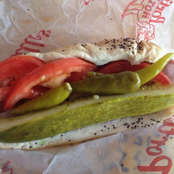 All Beef Chicago Dog @ Portillo's Hotdogs