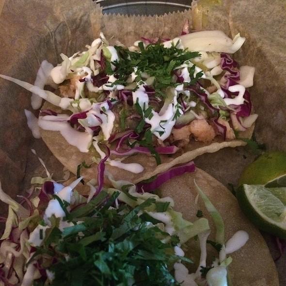 Sancho 39 s tacos menu huntington beach ca foodspotting for Flounder fish tacos