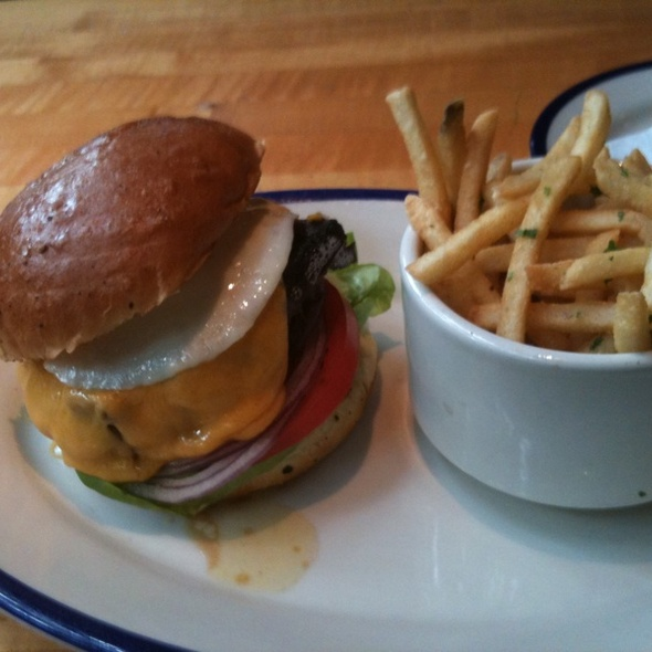 The Stodg Burger @ Porch The