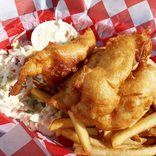 Fish 'n Chips @ Seattle Aquarium