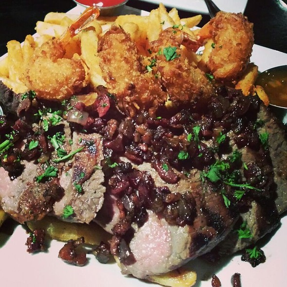 Steak Frites @ New York Pizza & Bar