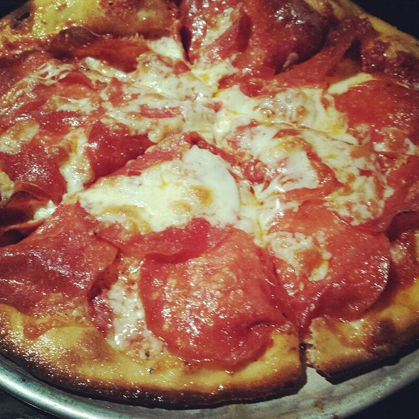 Pepperoni Pizza @ New York Pizza & Bar