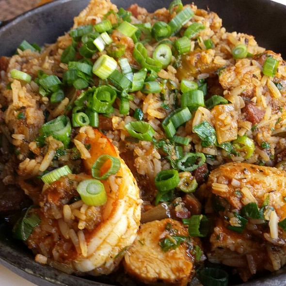 Big easy jambalaya @ Toulouse Petit Kitchen & Lounge