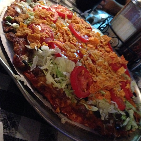 Taco Pizza @ JJ Twig's Pizza & Pub