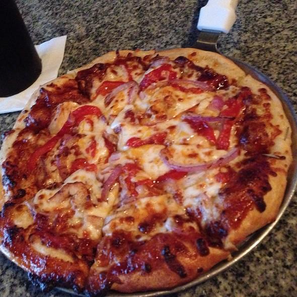 BBQ Chicken Pizza @ Zeppelin's Pizzeria & Bar