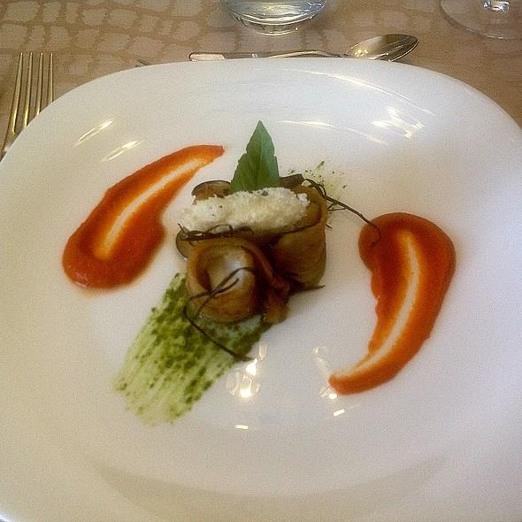 Aubergine Parmagiana @ Chef Academy