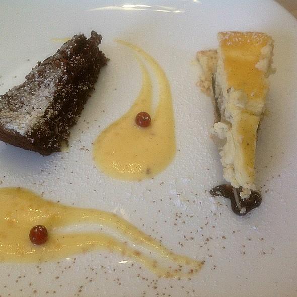 Pear Cheesecake @ Chef Academy