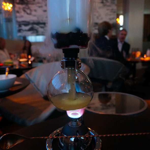 IFL Science - scotch, lemon, blueberry, ginger @ The Aviary