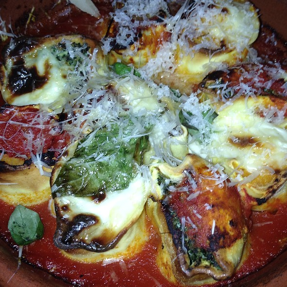 Honeycomb Cannelloni Trio @ Jamie Oliver's Diner