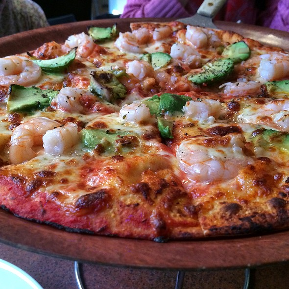 Prawn & Avocado Pizza @ Peter Pan's Italian Restaurant