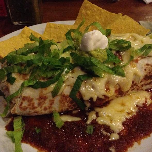 wet burrito @ Taco Casa