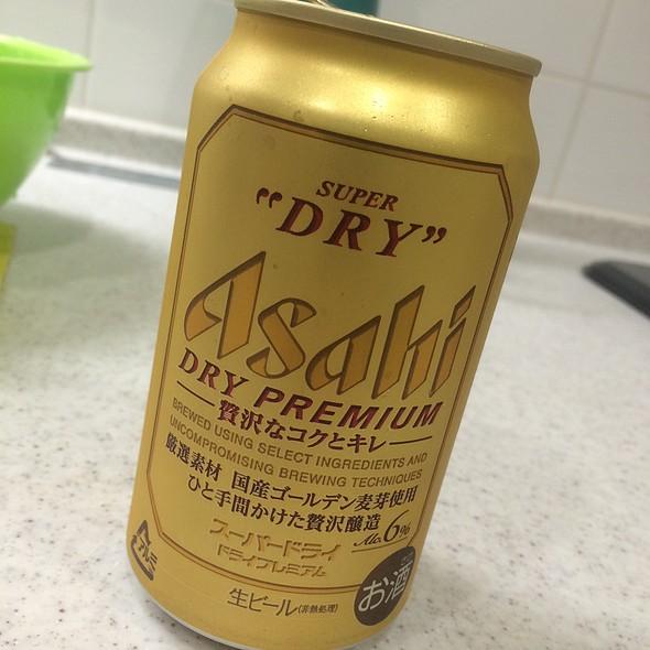 Asahi Super Dry Premium Beer @ Home