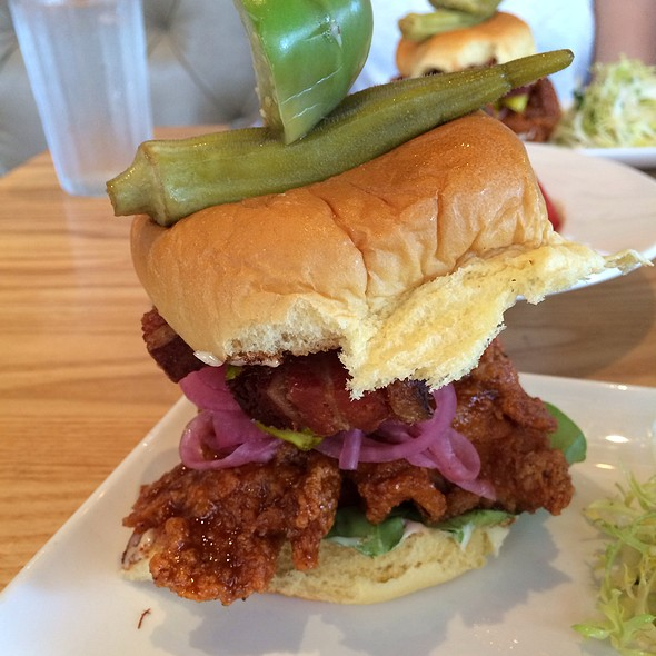 Fried Chicken Sandwich @ Yardbird