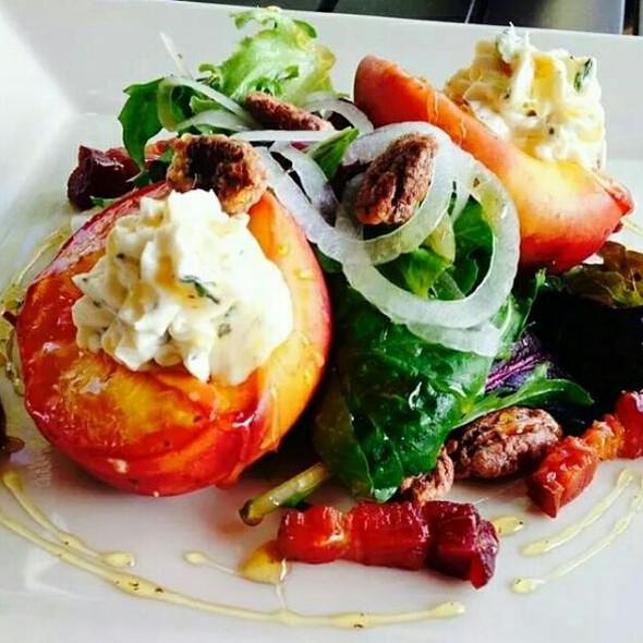 Peach Salad - Solstice Kitchen, Columbia, SC