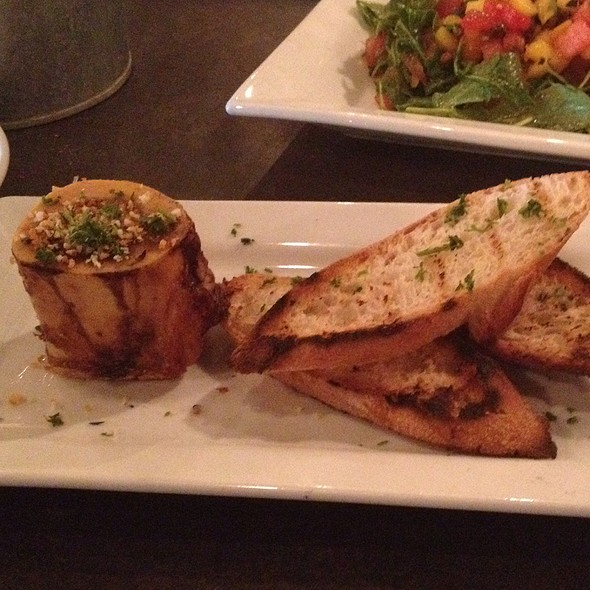 Smoked Bone Marrow - Q Roadhouse, Wilson, WY
