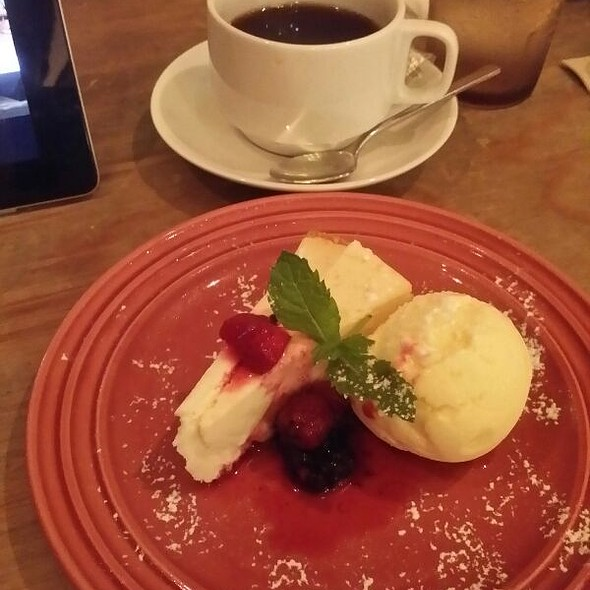 Cheesecake @ WIRED CAFE 渋谷QFRONT