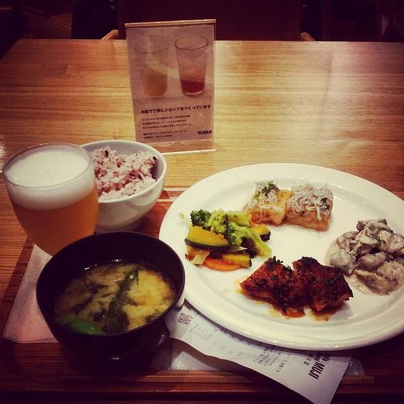 選べるデリ4品セット @ Cafe & Meal MUJI 新宿