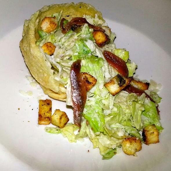 Cesar Salad @ Fame Restaurant