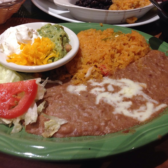 Refried Beans @ Mexicali Fresh Mex Grill