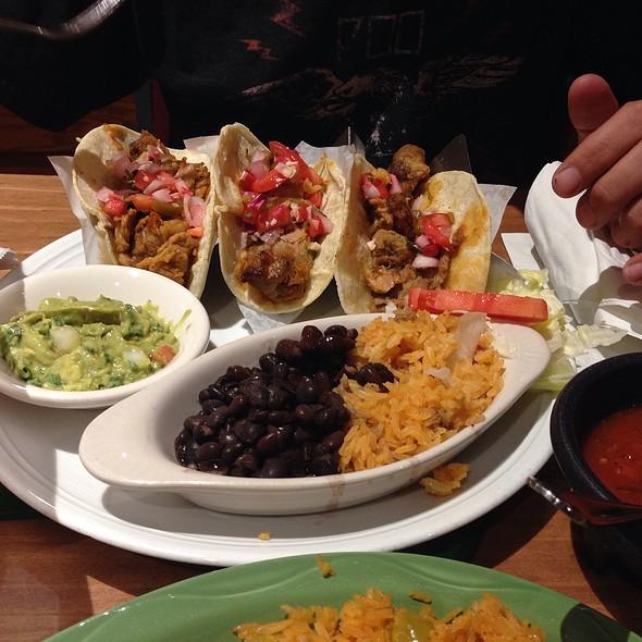 Pork Tacos @ Mexicali Fresh Mex Grill